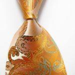 Golden Paisley Glazed
