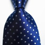 Royal Blue/Wht Dots