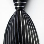Black/white Pinstripe