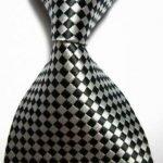 Silver/Black Diagonal